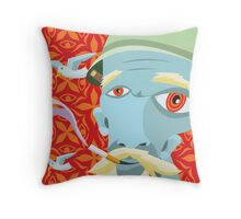 Dean's Dimension Wandering Grandfather Throw Pillow