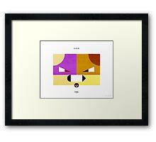 PKMNML #019-020 Framed Print