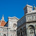 Florence Baptistery and Duomo by Jaime Pharr