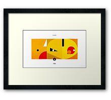 PKMNML #013-015 Framed Print