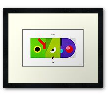 PKMNML #010-012 Framed Print