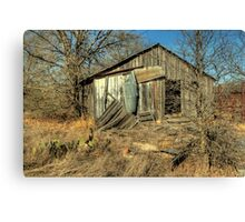 Same Day, Different Shed, Another Time of Day Canvas Print