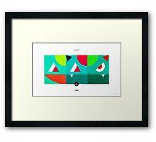 PKMNML #001-003 Framed Print