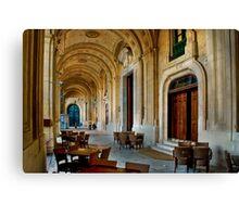 Side Door - Grand Master's Palace Valletta Malta Canvas Print
