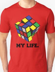 "Rubix Cube (Complex), ""My Life."" Quote Unisex T-Shirt"