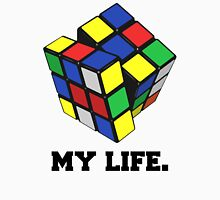 """Rubix Cube (Complex), """"My Life."""" Quote T-Shirt"""