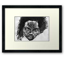 his dark side... Framed Print