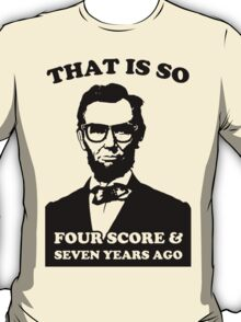 Lincoln Hipster T-Shirt
