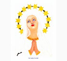 My acrylic painting of Our Lady of Lourdes in Gibraltar T-Shirt