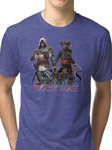 assassins creed IV black flag Tri-blend T-Shirt