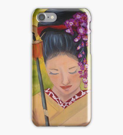 Geisha Doll iPhone Case/Skin
