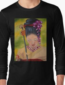 Geisha Doll Long Sleeve T-Shirt