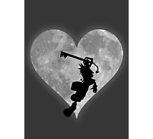Sora in the Moons embrace Photographic Print