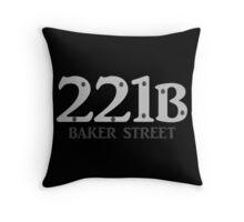 Sherlock - 221B Baker Street Throw Pillow