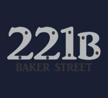 Sherlock - 221B Baker Street Kids Tee