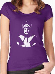 Phantom of Krankor, plain, white Women's Fitted Scoop T-Shirt