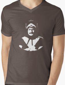 Phantom of Krankor, plain, white Mens V-Neck T-Shirt