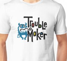 Trouble Maker born bad - earth Unisex T-Shirt
