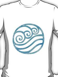 Watercolor Water Tribe Symbol T-Shirt