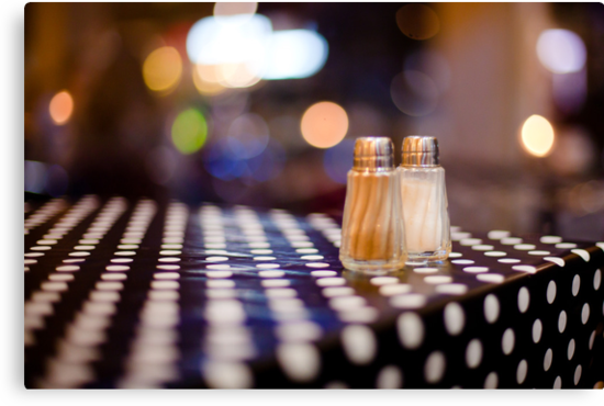 salt, pepper and white dots by Victor Bezrukov