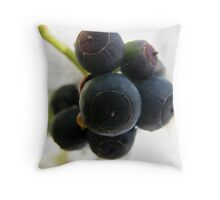 Snow Berries Throw Pillow