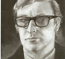 Michael Caine by scarletmoon