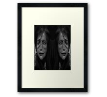 The Hurt and Pain is Tearing Me Apart Framed Print