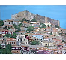 Molyvos, Lesvos, Greece Photographic Print