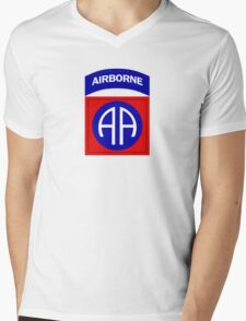 82nd Airborne Mens V-Neck T-Shirt