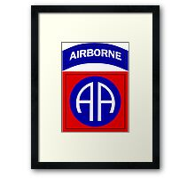 82nd Airborne Framed Print