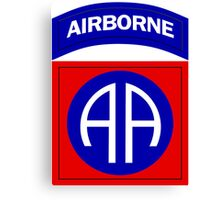 82nd Airborne Canvas Print