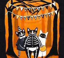 The Halloween Cats by Ryan Conners