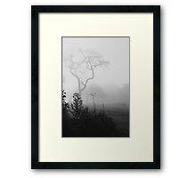 Misty Sunday 4 Framed Print