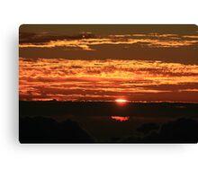 Sunrise on Haleakala Canvas Print