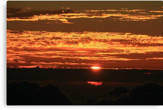 Sunrise on Haleakala by Jen Hendricks