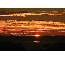 Sunrise on Haleakala Photographic Print
