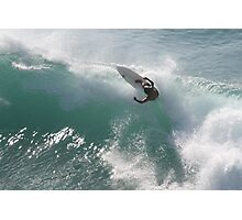 Surfing Jaws Photographic Print
