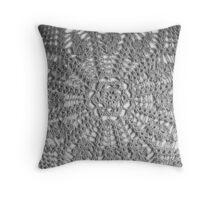 Doily love Throw Pillow