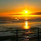 Filey - Speeton 8am sunrise by lendale