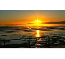 Filey - Speeton 8am sunrise Photographic Print