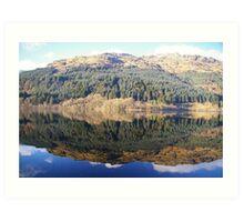 Loch Eck, Argyll. Art Print