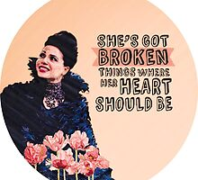 Broken - Regina Mills by kardish