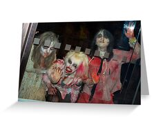 Scary no2 Greeting Card
