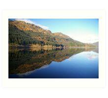 Loch Eck, Argyll, Scotland. Art Print
