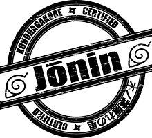 Konoha Jonin Black Distressed by Methrade