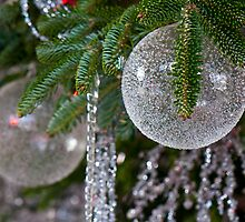 Crystal Holiday Ornaments by John R Franco