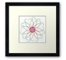 Kaleidoscope of Guitar and Music Notes 2 Framed Print