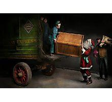 Chritstmas - How Santa ruined Christmas 1924 Photographic Print