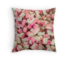 Pink sweets Throw Pillow