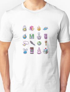 RPG Item Inventory T-Shirt